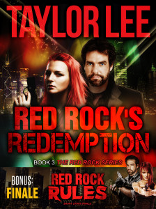 Taylor Lee_Red Rocks Redemption_Red Rock Rules combo cover 2